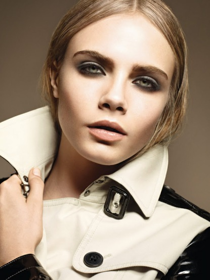 Cara Delevingne for Burberry Fall 2012-001