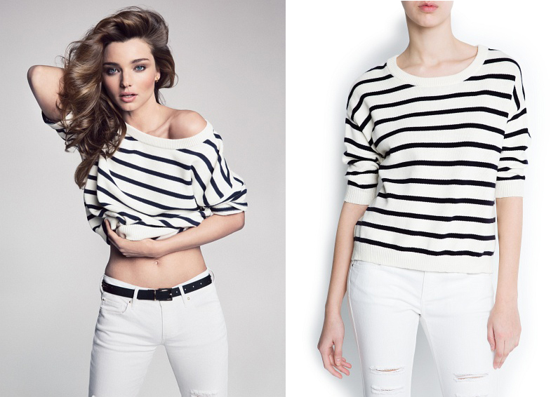 MANGO suéter stripes compo Quiero ser como yo