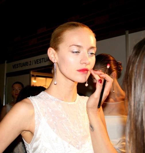 Barcelona Bridal Week 2014 - Make-up Rosa Clará - Quiero ser como Yo