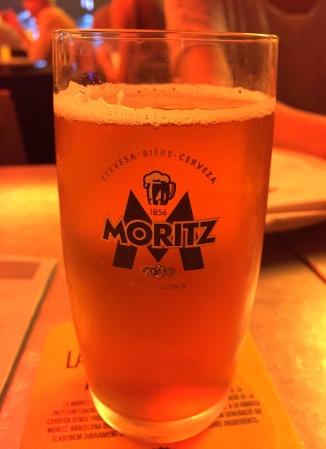 Cerveza Moritz - beer
