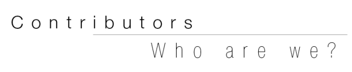 Contributors - Who are we? 21 Senses Magazine staff