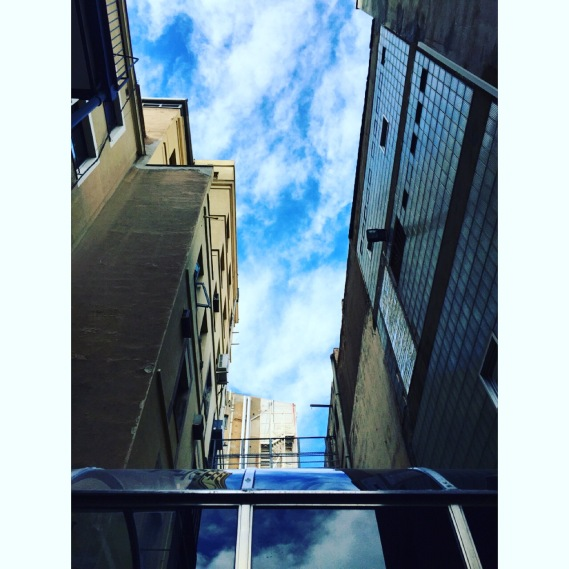 Vistas hacia el cielo. :)